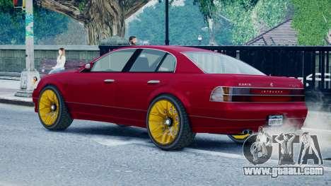 Intruder Sport for GTA 4 left view