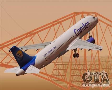 Airbus A320-200 Condor for GTA San Andreas