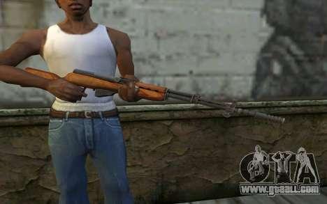 Simonov Self-Loading Carbine for GTA San Andreas third screenshot