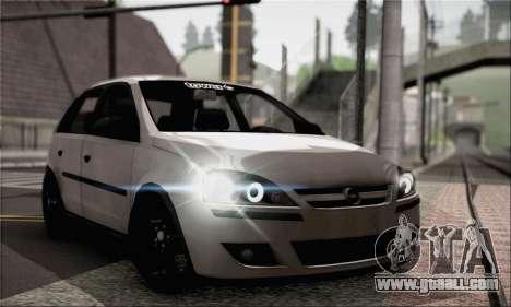 Opel Corsa 5-Doors for GTA San Andreas