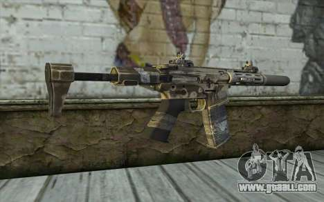 HoneyBadger from CoD Ghosts for GTA San Andreas second screenshot