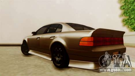GTA 5 Intruder Tuning Bumpers for GTA San Andreas left view
