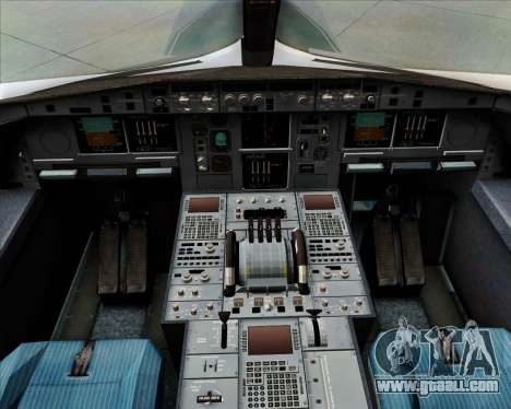 Airbus A380-800F Lufthansa Cargo for GTA San Andreas interior