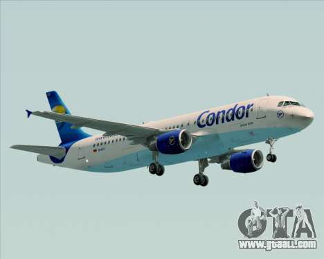 Airbus A320-200 Condor for GTA San Andreas left view