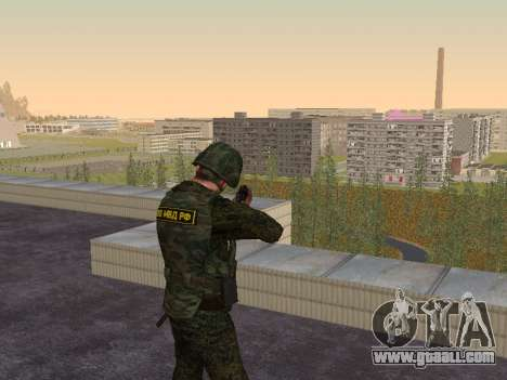 Soldiers of the MIA of the Russian Federation for GTA San Andreas third screenshot
