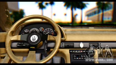 Maserati Ghibli II Cup (AM336) 1995 [ImVehFt] for GTA San Andreas back left view