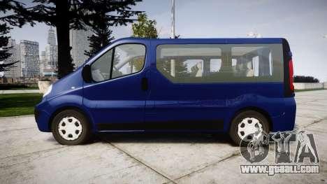 Renault Trafic Passenger for GTA 4 left view
