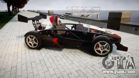 Ariel Atom V8 2010 [RIV] v1.1 Garton Racing Team for GTA 4 left view