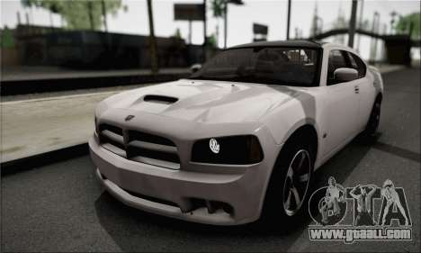 Dodge Charger SuperBee for GTA San Andreas side view