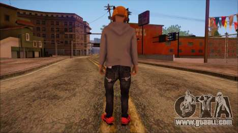 GTA 5 Online Skin 6 for GTA San Andreas second screenshot