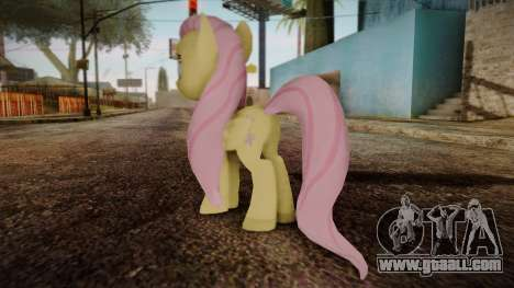 Fluttershy from My Little Pony for GTA San Andreas second screenshot