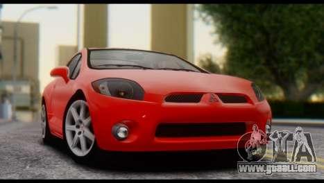 Mitsubishi Eclipse 2006 for GTA San Andreas right view