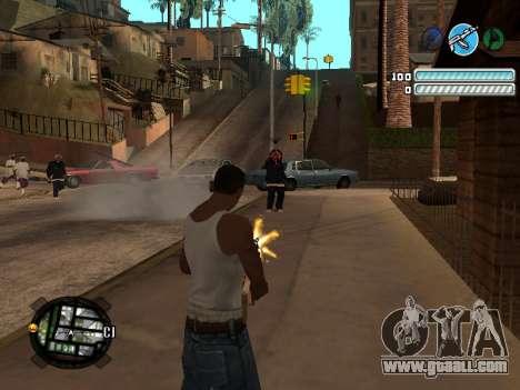 Respect C-HUD for GTA San Andreas third screenshot