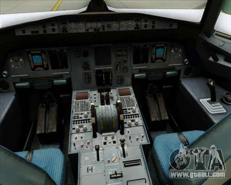 Airbus A320-200 Condor for GTA San Andreas interior