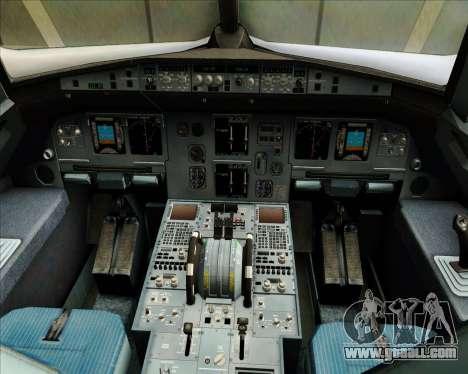 Airbus A320-200 JetBlue Airways for GTA San Andreas interior