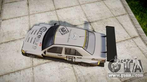 Mercedes-Benz 190E Evo II GT3 PJ 4 for GTA 4 right view