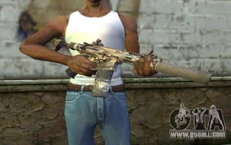 HoneyBadger from CoD Ghosts for GTA San Andreas third screenshot
