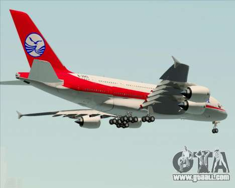 Airbus A380-800 Sichuan Airlines for GTA San Andreas