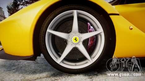 Ferrari LaFerrari [EPM] v1.2 for GTA 4 back view