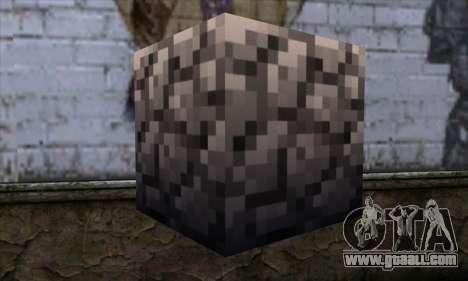 Block (Minecraft) v2 for GTA San Andreas second screenshot