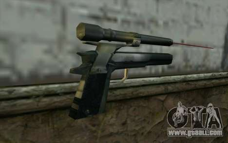AMT Hardballer Longslide with Laser Sight for GTA San Andreas second screenshot