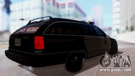 SD Chevy Caprice Station Wagon 1993 (1996) for GTA San Andreas left view