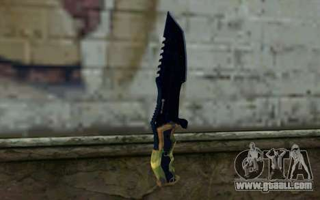 Knife from COD: Ghosts v1 for GTA San Andreas second screenshot