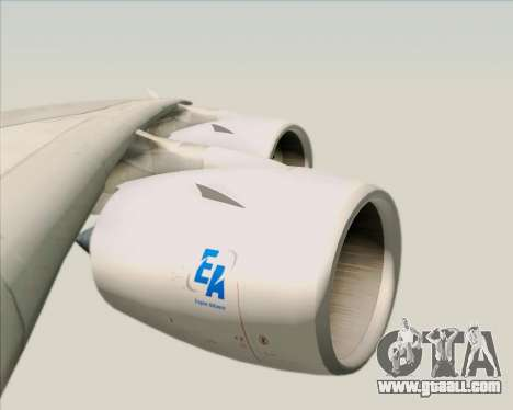 Airbus A380-800 Air France for GTA San Andreas