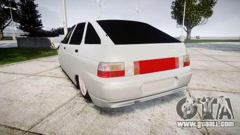 VAZ-2112 hobo for GTA 4 back left view