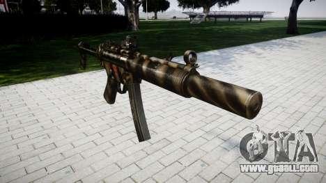 Gun MP5SD DRS FS for GTA 4