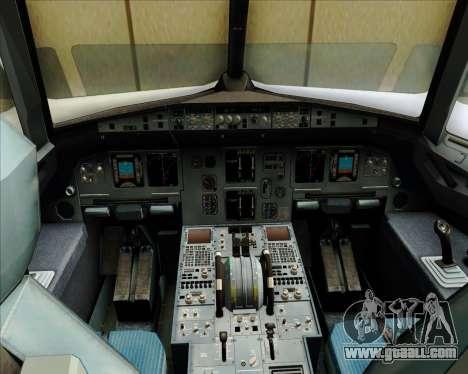 Airbus A320-200 Zest Air for GTA San Andreas interior