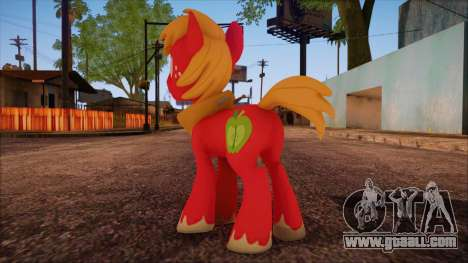 Big Macintosh from My Little Pony for GTA San Andreas second screenshot