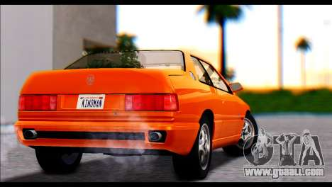 Maserati Ghibli II Cup (AM336) 1995 [ImVehFt] for GTA San Andreas left view