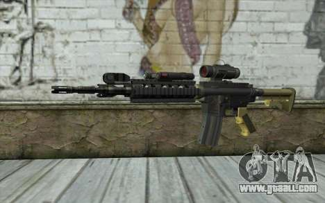 M4 MGS Aimpoint v2 for GTA San Andreas