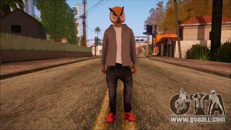 GTA 5 Online Skin 6 for GTA San Andreas