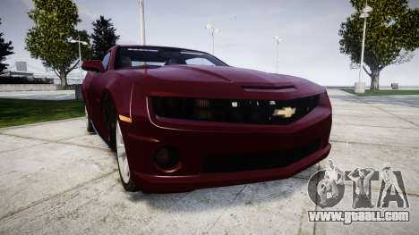 Chevrolet Camaro SS [ELS] Unmarked runners for GTA 4