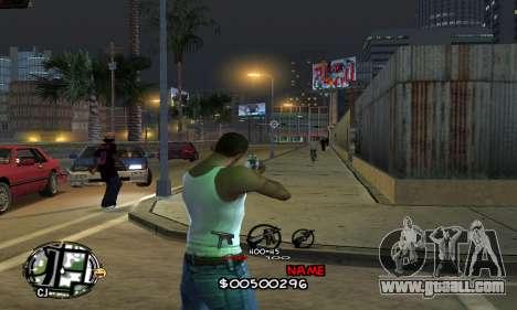 C-HUD by Jackson for GTA San Andreas
