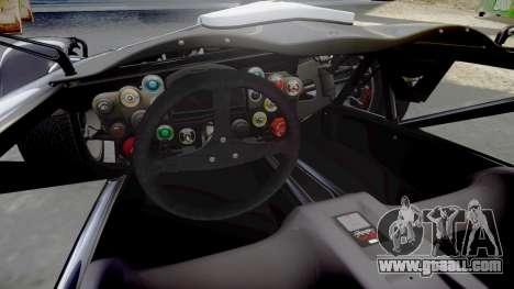 Ariel Atom V8 2010 [RIV] v1.1 Garton Racing Team for GTA 4 inner view