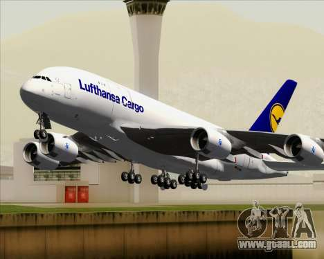 Airbus A380-800F Lufthansa Cargo for GTA San Andreas