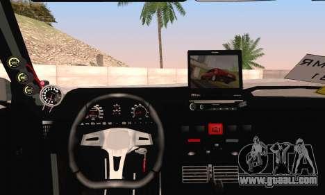 Tofas Dogan SLX for GTA San Andreas back left view
