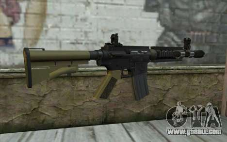 M4 MGS Iron Sight v1 for GTA San Andreas second screenshot