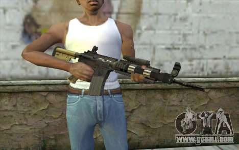 M4 MGS Aimpoint v1 for GTA San Andreas third screenshot
