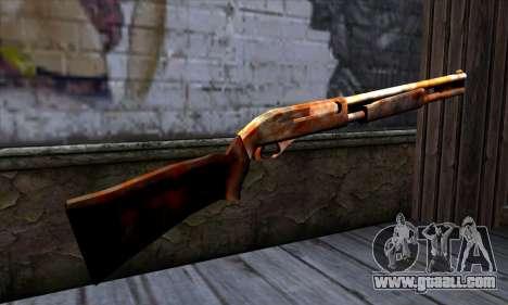 Chromegun v2 Rusty for GTA San Andreas second screenshot
