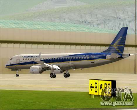 Embraer E-190-200LR House Livery for GTA San Andreas