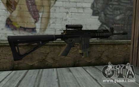 M4A1 from COD Modern Warfare 3 v2 for GTA San Andreas second screenshot
