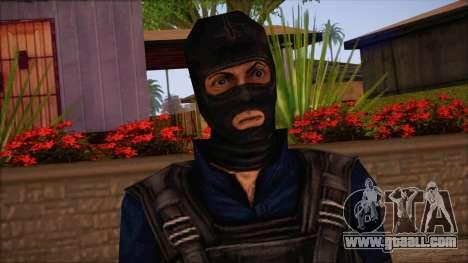 Terror from Counter Strike Condition Zero for GTA San Andreas third screenshot