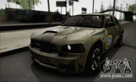 Dodge Charger SuperBee for GTA San Andreas inner view