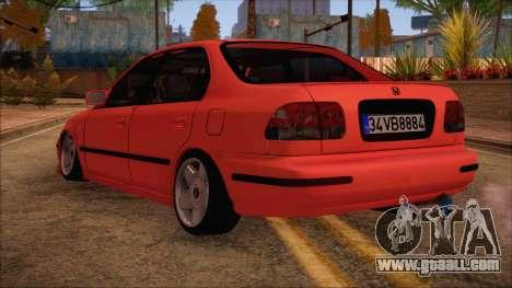 Honda Civic 34 VB 8884 for GTA San Andreas