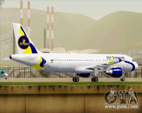 Airbus A320-200 Jet Airways for GTA San Andreas