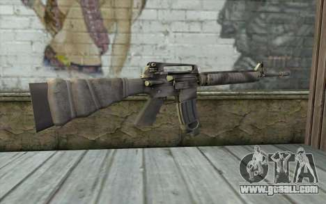 M16A4 from Battlefield 3 for GTA San Andreas second screenshot